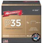 """ARROW STAPLES, FOR P35 STAPLER 3/8"""""""" 5,000/PK"""
