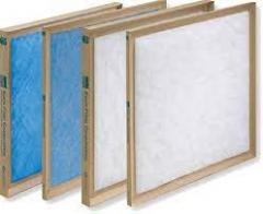 Non Pleated Air Filters